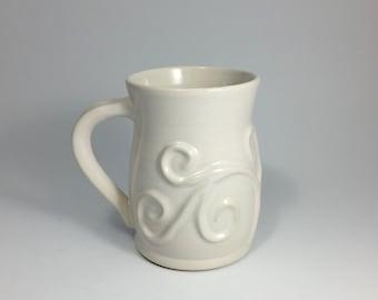 Mug with vines