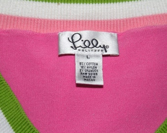LILLY PULITZER Size Large Sweater
