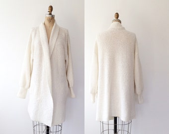 vintage sweater / cocoon sweater / St. Cecilia knit cardigan