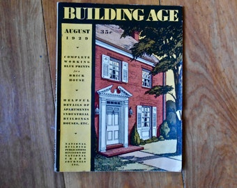 Building Age Magazine - Building Age Trade Journal- August 1929