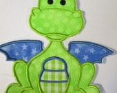 Dragon - Iron On or Sew On Embroidered Applique