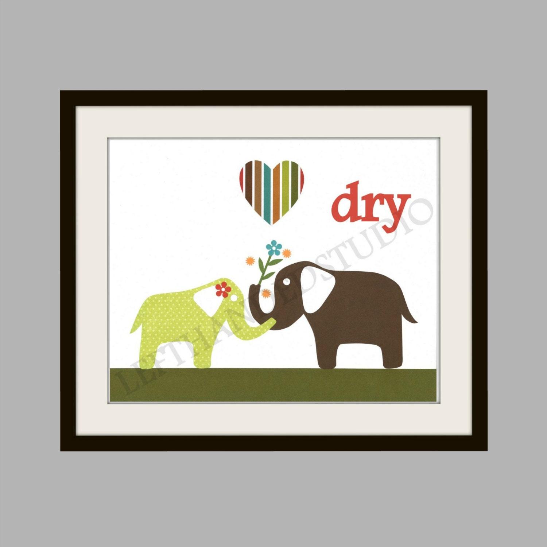 Elephant art print target circo elephant shower bathroom for Elephant bathroom accessories