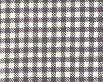 SUMMER SALE - 4 yards - Gingham in Concrete - Volume II - Sweetwater - Moda Fabrics (5616 13) - Mama Said Sew