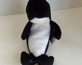 Waves the Whale TY Beanie Baby