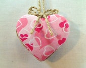 Pink Heart Ornament | Valentines Day | Spring Decor | Party Favor | Birthday | Tree Ornament | Holidays | Decoration | #1
