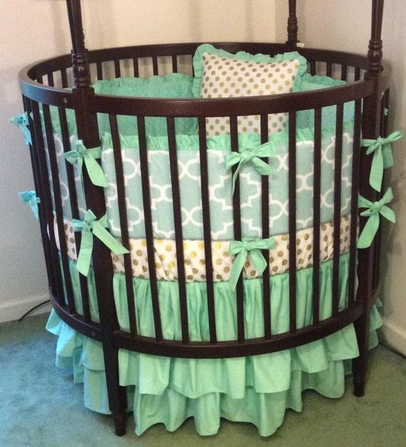 Etsy Round Crib Bedding