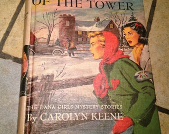 1934 In the Shadow of the Tower Mystery Book