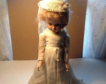 Vintage 1940s doll