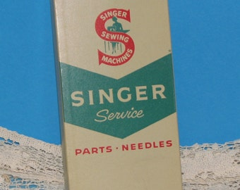 Vintage Singer Sewing Machine Parts Box