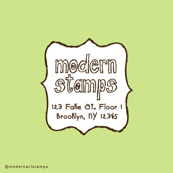 Custom Rubber Stamp   Custom Stamp   Return Address Stamp   Custom Address Stamp   Personalized Stamp   Frame Stamp   C343