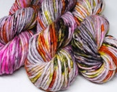 Big Rad Bulky - Hand Dyed Yarn - SW Merino/Nylon  - 82 Yards - Killer Queen