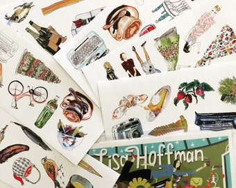 Lisa Hoffman Stickers  -Opening Collection- Limited Edition