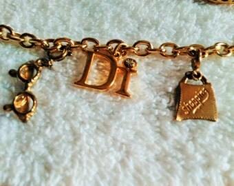 DI Charm Bracelet, 3 Charms