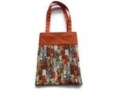 Handmade Fabric Cat Gift/Goodie Bags - Cats