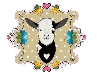 Dean the goat! Proceeds to farm rescue!!
