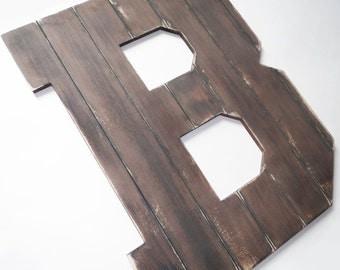 """20"""" Barnboard Wooden Letters"""