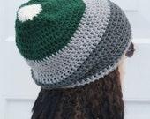 "ON Sale Mens, Crochet, Slouch, Oversized Beanie ,Slouchy Tam, Womens, Dreads Hat 22"" - 25"""