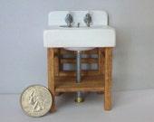 Miniature Sink  - 1:12 scale