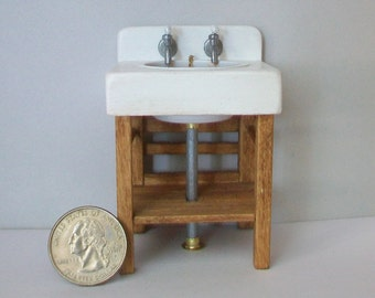 Miniature Sink  - 1:12 scale