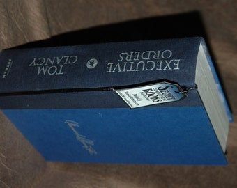 Hollow Book Safe - Hollowed Out Book – Tom Clancy Exectutive Orders - Magnetic Snap Closure