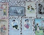 Cute Children for All Occasions in Vintage Postcard Lot No 74 Birthday Humor Valentines Great Illustrations in Lot of 8