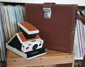 RESERVED for Xabier! Polaroid Leather Hard Case for SX-70