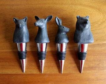 Woodland Bottle Stoppers