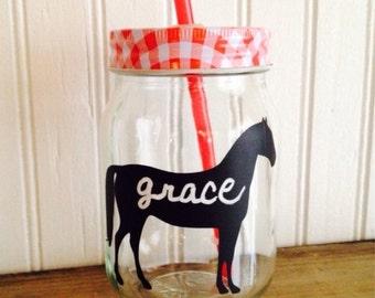 SALE- 9 Horse Chalkboard Labels, Chalkboard Mason Jar Labels, Western Wedding, Horse Birthday Party Labels
