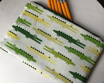 Alligator Zipper Case