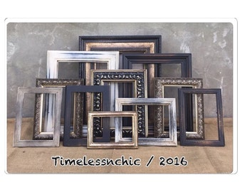 Picture Frame - Picture Frame Set - Shabby Chic Picture Frames - Picture Frames - Farmhouse Decor - CHIC
