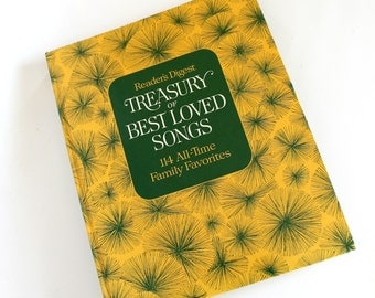 Vintage Reader's Digest Treasury of Best Loved Songs