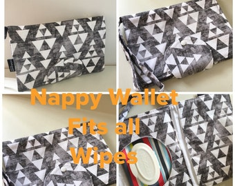 Stacked Nappy Walket  New Design Fits All Nappy Wipes
