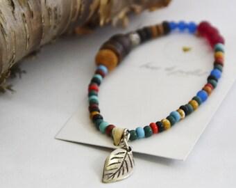 Bracelet coloré nature zen bo-ho