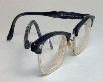 1950s Art Craft Browline Eyeglasses