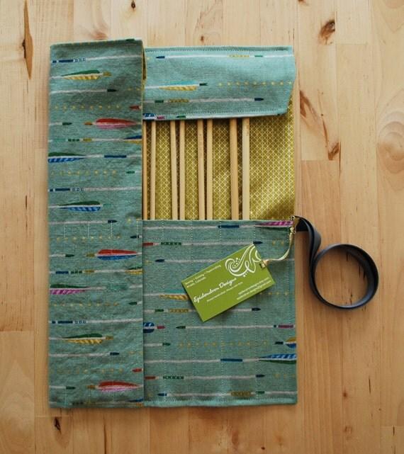 Knitting Organizer Case : Knitting needle case organizer holder for by