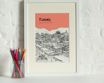 Personalised Florence Print