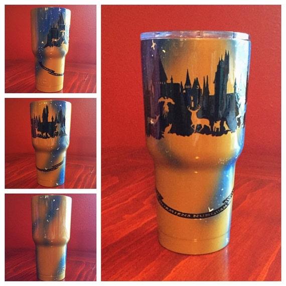 Custom Harry Potter 30oz Rtic Tumbler You Choose House