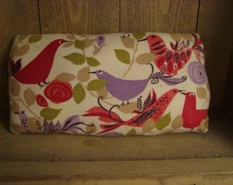 Primitive - Vintage Fabric Bird Pillow