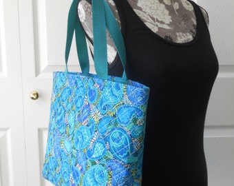 """The """"BASIC"""" Tote - Quilted Tote Bag...Great for the Beach, Book Store or Craft Projects"""