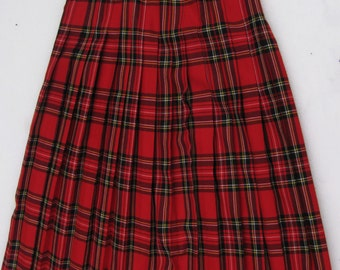 sz 10 EXTRA LONG KILT skirt by Germanys Hauber of Germany