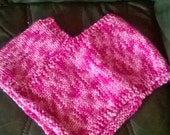 Hand knitted 12-18 months poncho