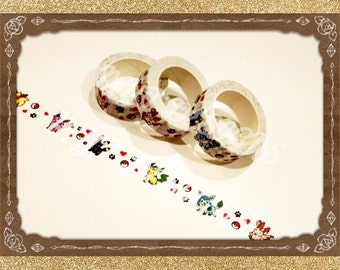 Eevee evolution Washi Tape