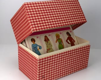 Boxed Creative Patterns System, Sewing Pattern System with Booklets and File Box
