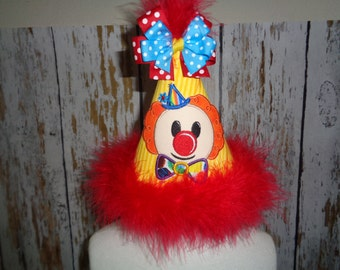 Clown- Circus- Carnival Party Hat