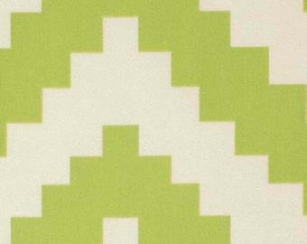 1 Yard Home Decor Free Spirit Joel Dewberry -  Flora-DIAMONTE-Green SaJD030