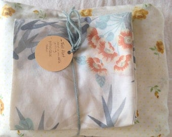 Vintage Imperfect Linens Grab Bag  / perfect for crafting