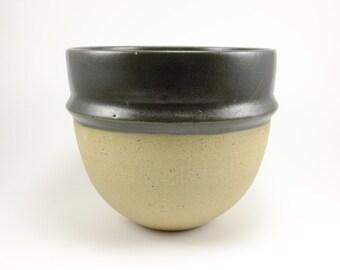 Pewter Saturn Speckle Serving Bowl