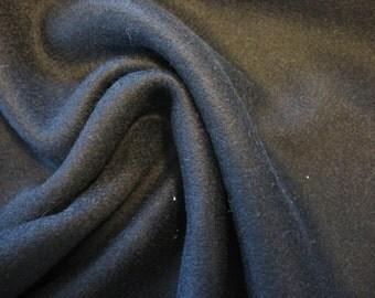 FABRIC Camel Hair herringbone, luxurious Black pure camel hair fabric with sheen, sold per yard