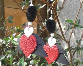 V01 Valentine earrings