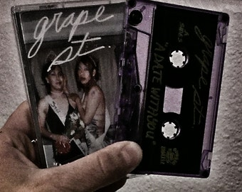 Grape St. A Date With You Cassette Tape